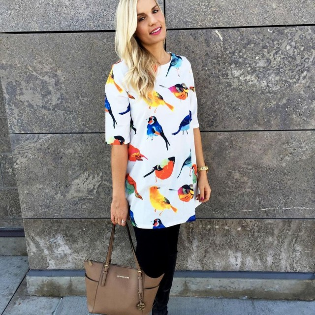 My favorite bird print dress is on sale for 40hellip