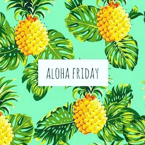 Aloha Friday! friday weekendvibes fashionblogger yyc via elsiedvnbspRead more