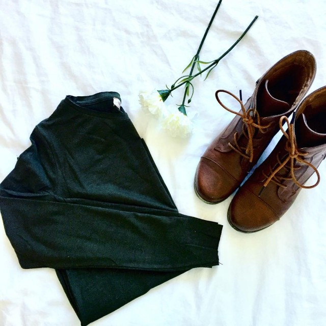 Fall essentials  cute boots amp long sleeve tops hellip