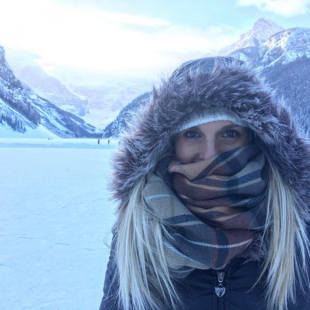 Amazing day out exploring the Rockies! Froze our buns offhellip