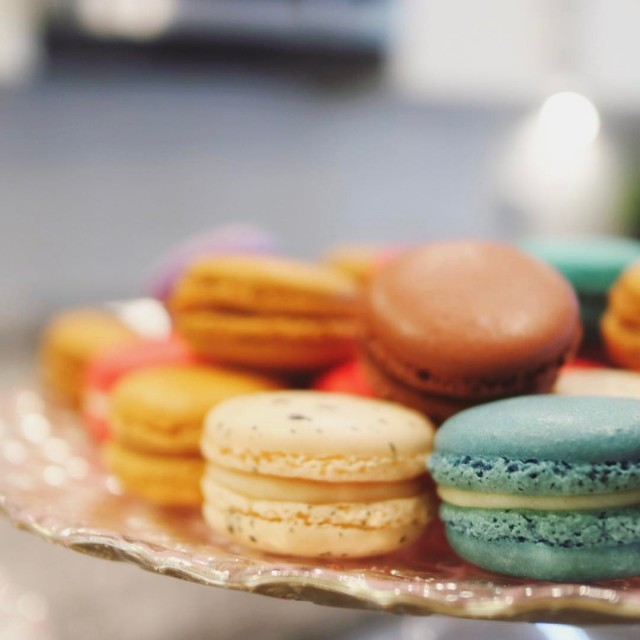 Always a good idea for a little macaroon Sunday andhellip