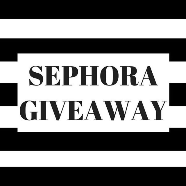 SEPHORA GIVEAWAY!10 amazing ladies and I got together to givehellip